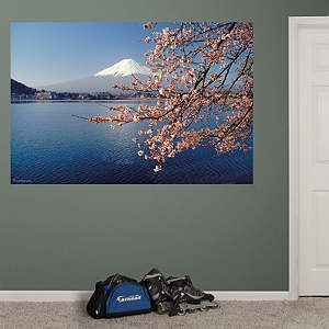 Mt. Fuji Mural Fathead Wall Decal